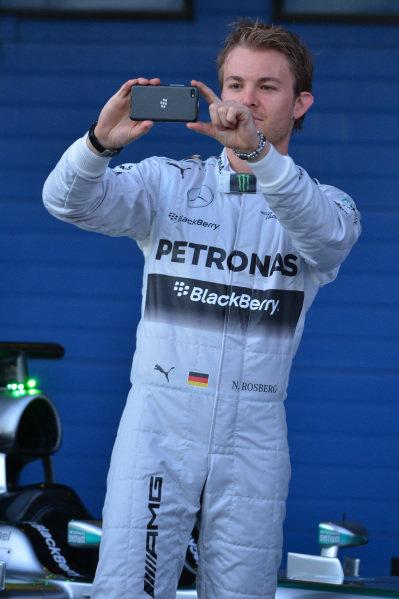 Nico Rosberg (GER) Mercedes AMG F1. Formula One Testing, Jerez, Spain, Day One, Tuesday 28 January 2014.