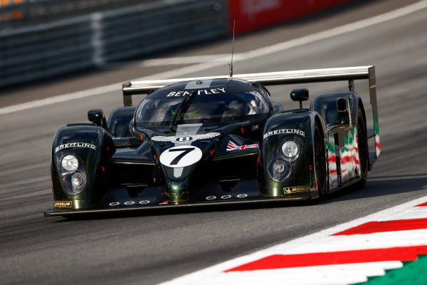 Red Bull Ring, Spielberg, Austria. Saturday 08 July 2017. Guy Smith demonstrates a Le Mans-winning Bentley. World Copyright: Andy Hone/LAT Images ref: Digital Image _ONY1813