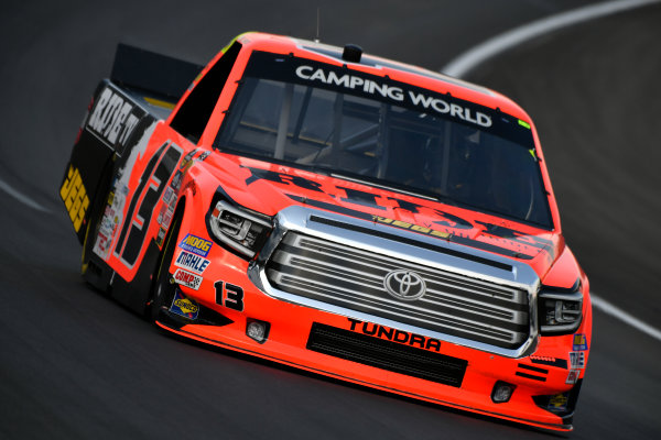 NASCAR Camping World Truck Series winstaronlinegaming.com 400 Texas Motor Speedway, Ft. Worth, TX USA Thursday 8 June 2017 Cody Coughlin, Ride TV/ Jegs Toyota Tundra World Copyright: Scott R LePage LAT Images ref: Digital Image lepage-170608-TMS-0496