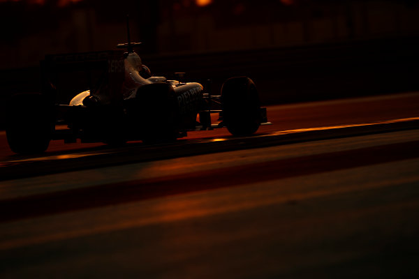 Yas Marina Circuit, Abu Dhabi, United Arab Emirates. Wednesday 26 November 2014. Max Verstappen, Toro Rosso STR9 Renault. World Copyright: Glenn Dunbar/LAT Photographic. ref: Digital Image _89P9086