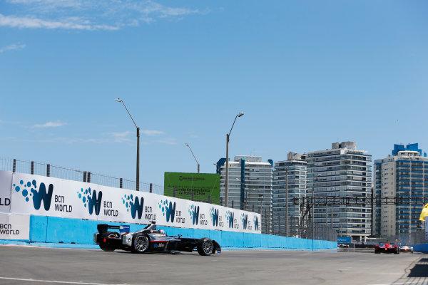 2014 FIA Formula E Championship. Punta del Este ePrix, Uruguay. Oriol Servia (SPA)/Dragon Racing - Spark-Renault SRT_01E. Photo: Zak Mauger/LAT/FE ref: Digital Image _L0U9645