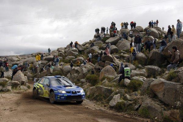 2008 FIA World Rally ChampionshipRound 04Rally Argentina 27-30 of MarchChris Atkinson, Subaru, ActionWorldwide Copyright: McKlein/LAT