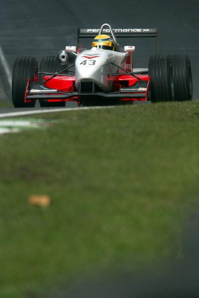 Barton Mawer (AUS)British Formula Three Championship, Press day.Brands Hatch, Kent, England. 24th March 2004Digital Image