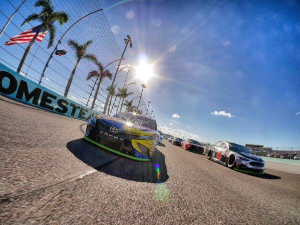 Monster Energy NASCAR Cup Series Ford EcoBoost 400 Homestead-Miami Speedway, Homestead, FL USA Sunday 19 November 2017 Kyle Busch, Joe Gibbs Racing, M&M's Caramel Toyota Camry World Copyright: Lesley Ann Miller LAT Images
