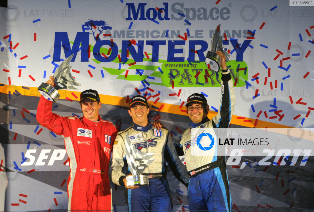16-18 September, 2011, Monterey, California USA#66 TRG  wins GTC class.(c)2011,  Dan R. Boyd  LAT Photo USA