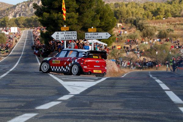 Round 12-Rally Spain. 20th-23th October 2011.Dani Sordo, Mini WRC, Action.Worldwide Copyright: McKlein/LAT