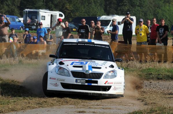 Round 09 - Rally Deutschland 18-21 August 2011.Christian Riedemann, Skoda S2000, Action.Worldwide Copyright: McKlein/LAT