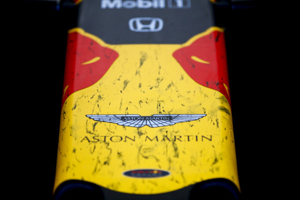 The nose of a Red Bull Racing RB15