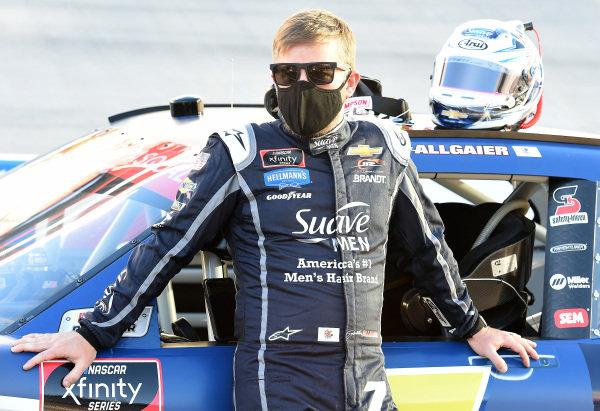 Justin Allgaier, JR Motorsports Chevrolet Suave Men, Copyright: Jared C. Tilton/Getty Images.