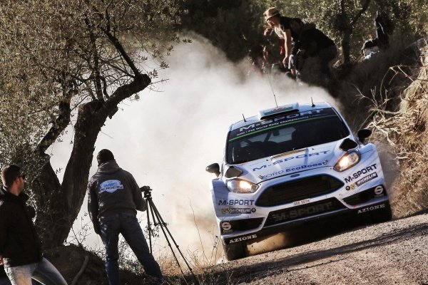 Elfyn Evans (GBR) / Daniel Barritt (GBR) Ford Fiesta RS WRC at FIA World Rally Championship, Rd12, RAAC Rally de Espana, Day One, Costa Daurada, Catalunya, Spain, 23 October 2015.