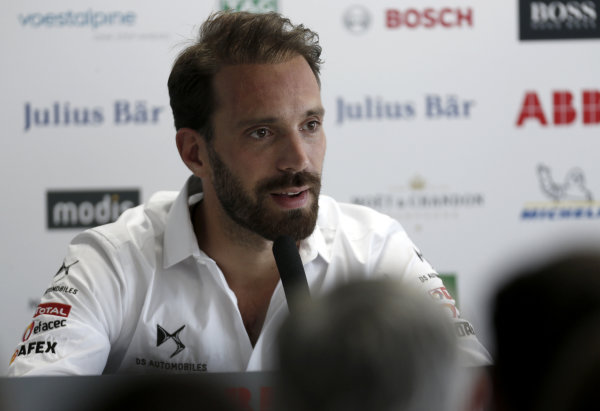 Jean-Eric Vergne (FRA), DS TECHEETAH in the press conference