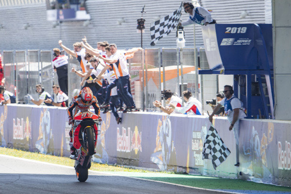 Race winner Marc Marquez, Repsol Honda Team.