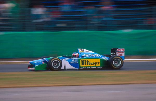Suzuka, Japan. 4th - 6th November 1994. Michael Schumacher (Benetton B194 Ford) 2nd position.Ref-94 JAP 14.World Copyright - LAT Photographic