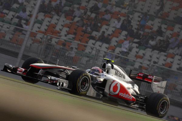 Jenson Button, McLaren MP4-26 Mercedes.