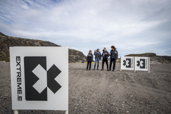 Mikaela Ahlin-Kottulinsky (SWE), JBXE Extreme-E Team, and Kevin Hansen (SWE), JBXE Extreme-E Team