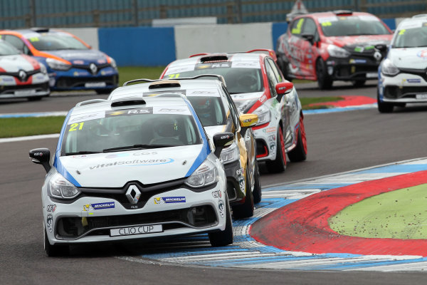2017 Renault Clio Cup, 15th-16th April 2017, Donington Park, Mike Bushell (GBR) Team Pyro Renault Clio Cup World Copyright. JEP/LAT Images