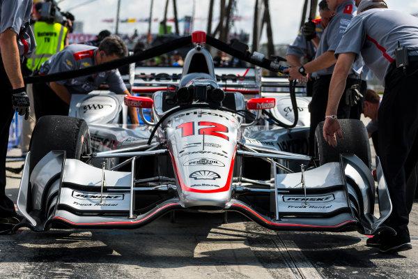 2017 Verizon IndyCar Series Toyota Grand Prix of Long Beach Streets of Long Beach, CA USA Saturday 8 April 2017 Will Power World Copyright: Gavin Baker/LAT Images ref: Digital Image Baker_0417-lbgp1703