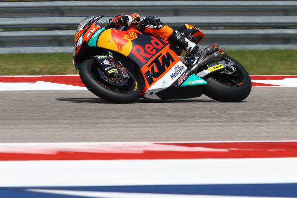 2017 Moto2 Championship - Round 3 Circuit of the Americas, Austin, Texas, USA Friday 21 April 2017 Miguel Oliveira, Red Bull KTM Ajo World Copyright: Gold and Goose Photography/LAT Images ref: Digital Image Moto2-500-2167