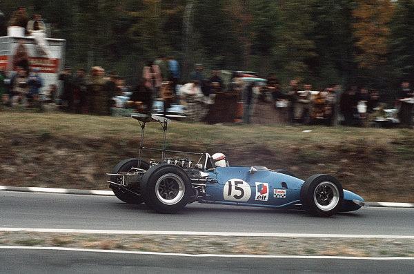 Watkins Glen, New York, USA.4-6 October 1968.Jackie Stewart (Matra MS10-Ford) 1st position.Ref-35mm 68 USA 82.World Copyright - LAT Photographic