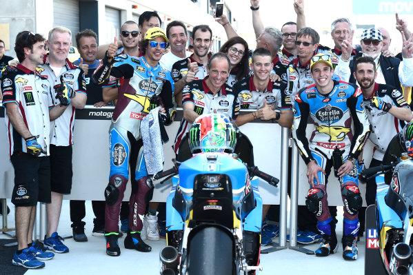 2017 Moto2 Championship - Round 14 Aragon, Spain. Saturday 23 September 2017 Alex Marquez, Marc VDS World Copyright: Gold and Goose / LAT Images ref: Digital Image 13874