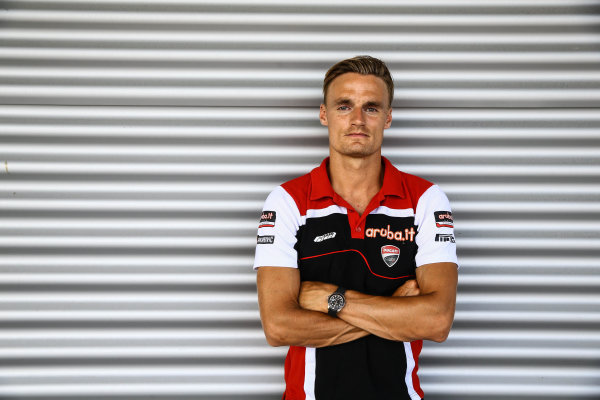 2017 Superbike World Championship - Round 9 Lausitzring, Germany Friday 18 August 2017 Chaz Davies, Ducati Team World Copyright: Gold and Goose / LAT Images ref: Digital Image 687413