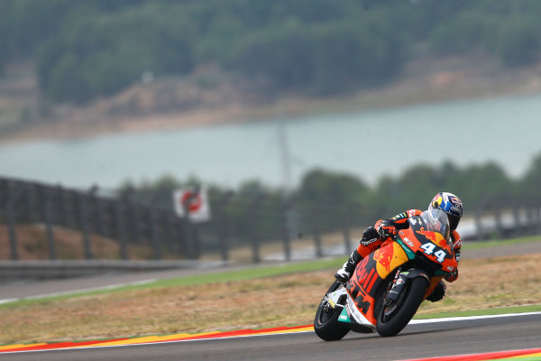 2017 Moto2 Championship - Round 14 Aragon, Spain. Friday 22 September 2017 Miguel Oliveira, Red Bull KTM Ajo World Copyright: Gold and Goose / LAT Images ref: Digital Image 693615