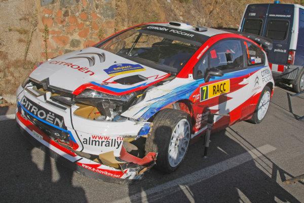 Round 11 Rally Catalunya 01-04 October 2009Evgeny Novikov, Citroen, WRC, ActionWorldwide Copyright: McKlein/LAT