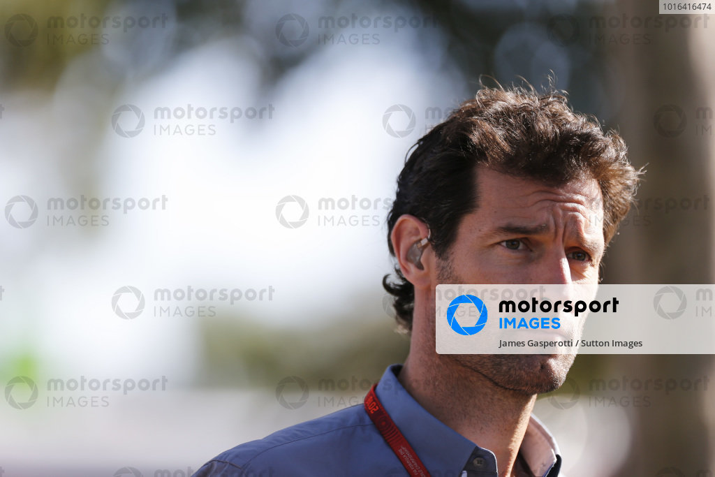 Mark Webber (AUS) Porsche WEC Team at Formula One World Championship, Rd1, Australian Grand Prix, Race, Albert Park, Melbourne, Australia, Sunday 20 March 2016.