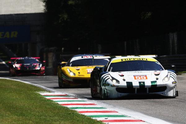 #55 Ferrari F488 GTE EVO / SPIRIT OF RACE / Duncan Cameron / Alessandro Pier Guidi / David Perel