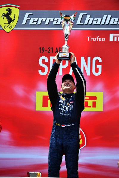Philippe Prette, Blackbird Concessionaires HK, receives his winner's trophy