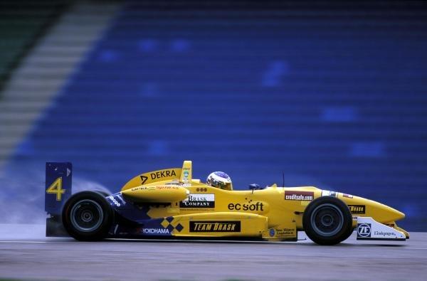 Giorgio Pantano (ITA).German Formula Three Championship, Hockenheim, Germany, 27-29 October 2000.BEST IMAGE