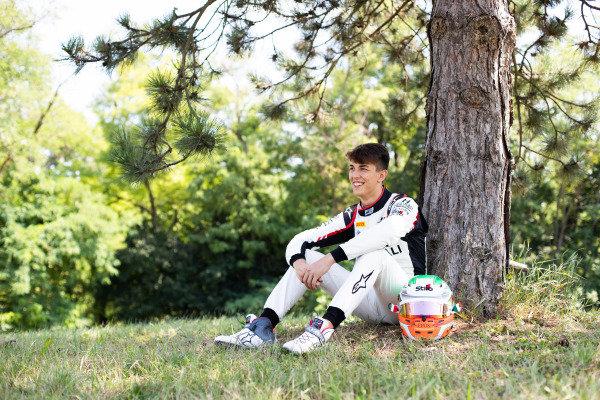 HUNGARORING, HUNGARY - AUGUST 01: Leonardo Pulcini (ITA, Hitech Grand Prix) during the Hungaroring at Hungaroring on August 01, 2019 in Hungaroring, Hungary. (Photo by Joe Portlock / LAT Images / FIA F3 Championship)