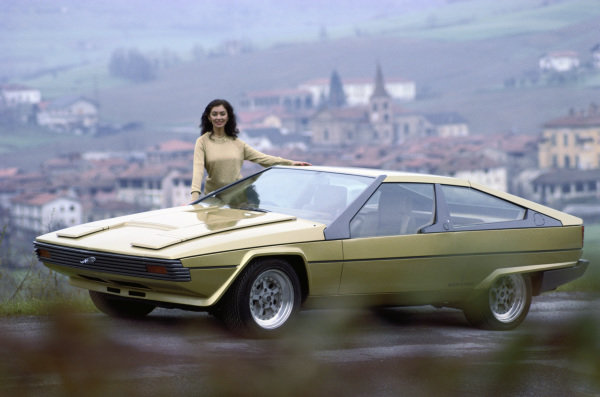Concept Car, Bertone Jaguar Ascot (based on the XJS), 1977
