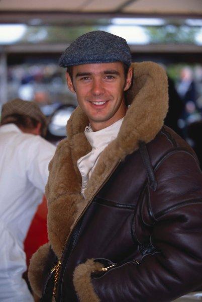 2002 Goodwood Motor Circuit Revival, Goodwood, England.6th-8th September 2002.Darren Manning, Portrait.World copyright Bloxham/LAT.