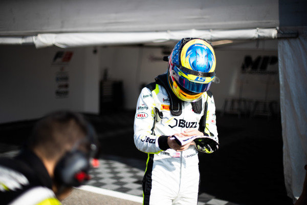 AUTODROMO NAZIONALE MONZA, ITALY - SEPTEMBER 07: Logan Sargeant (USA, Carlin Buzz Racing) during the Monza at Autodromo Nazionale Monza on September 07, 2019 in Autodromo Nazionale Monza, Italy. (Photo by Joe Portlock / LAT Images / FIA F3 Championship)