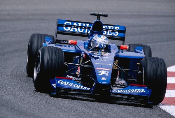 2000 Spanish Grand Prix.Catalunya, Barcelona, Spain. 5-7 May 2000.Jean Alesi (Prost AP03 Peugeot).Ref-2K ESP 76.World Copyright - Gavin Lawrence/LAT Photographic