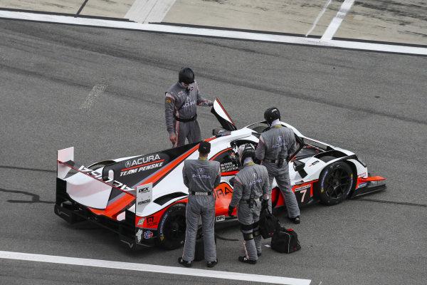 #7 Acura Team Penske Acura DPi, DPi: Helio Castroneves, Ricky Taylor, Alexander Rossi, Pre-Race
