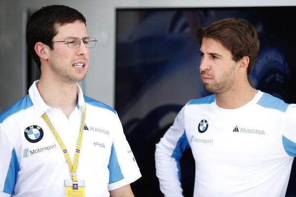 Alexander Sims (GBR) BMW I Andretti Motorsports and Antonio Felix da Costa (PRT), BMW I Andretti Motorsports