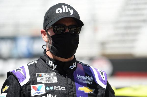 Jimmie Johnson, Hendrick Motorsports Chevrolet Ally, Copyright: Jared C. Tilton/Getty Images.