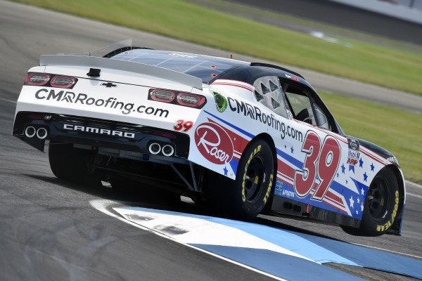 #39: Ryan Sieg, RSS Racing, Chevrolet Camaro CMRRoofing.com