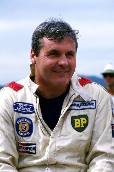 Alan Jones (AUS) Beatrice Lola.Formula One World Championship, c. 1985.