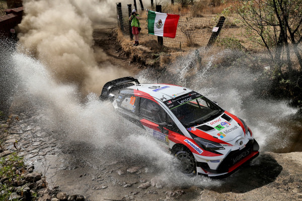 Jari-Matti Latvala (FIN) / Miikka Anttila (FIN), Toyota Gazoo Racing Toyota Yaris WRC at World Rally Championship, Rd3, Rally Mexico, Preparations and Shakedown, Leon, Mexico, 8 March 2017.