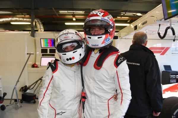 Will Davison (AUS) F1 Experiences 2-Seater driver and F1 Experiences 2-Seater passenger at Formula One World Championship, Rd1, Australian Grand Prix, Preparations, Melbourne, Australia, Thursday 22 March 2018.