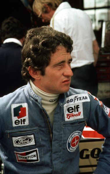 1977 Formula 1 World Championship.Patrick Depailler (Tyrrell-Ford Cosworth).Ref-D2A 01.World - LAT Photographic