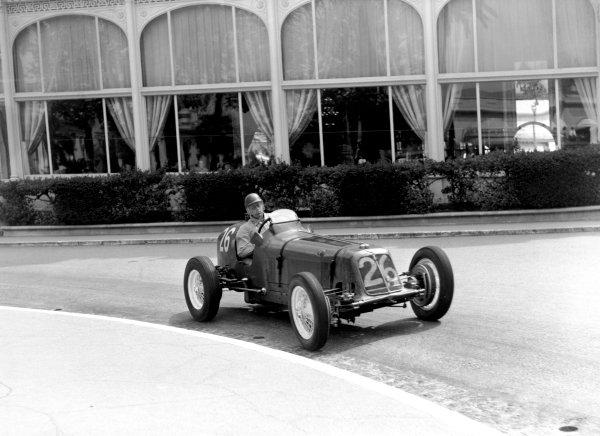 1950 Monaco Grand Prix.Monaco, Monte Carlo. 21st May 1950.Bob Gerard (ERA A-type). Ref-C26719.World Copyright: LAT Photographic