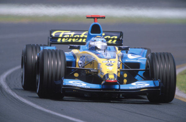 2004 Australian Grand PrixAlbert Park, Mellbourne. 19th - 21st March.Jarno Trulli, Renault R24. Action.World Copyright: Peter Spinney/LAT Photographic.ref: 35mm Transparency Image ref: 04_R24_03 jpg