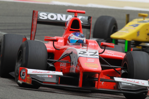 Bahrain International Circuit, Sakhir, Bahrain. 22nd April. Sunday Race.Simon Trummer (SUI, Arden International). Action.  World Copyright: Andrew Ferraro/GP2 Media Service. Ref: Digital Image _Q0C8474.jpg