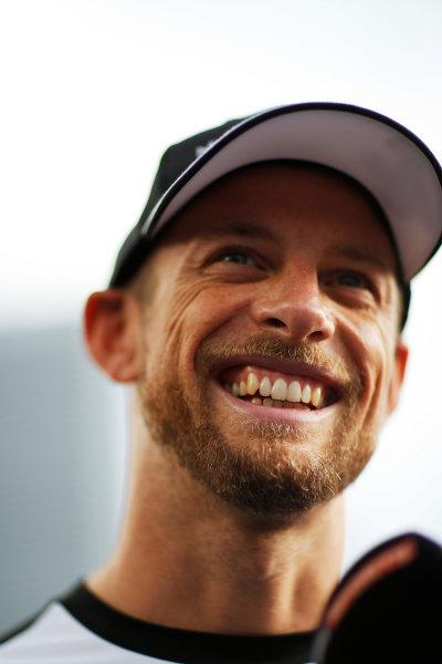 Autodromo Nazionale di Monza, Monza, Italy. Thursday 3 September 2015. Jenson Button, McLaren. World Copyright: Alastair Staley/LAT Photographic ref: Digital Image _R6T7764