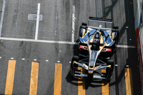 2017/2018 FIA Formula E Championship. Round 1 - Hong Kong, China. Saturday 02 December 2017. Andre Lotterer (BEL), TECHEETAH, Renault Z.E. 17. Photo: Alastair Staley/LAT/Formula E ref: Digital Image _ALS6123