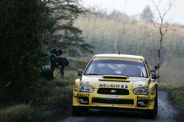 2007 World Rally ChampionshipRally Ireland 15th-18th November 2007,Guy Wilks, SubaruWorld Copyright: McKlein/LAT